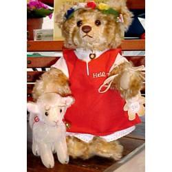 Steiff Heidi et son mouton