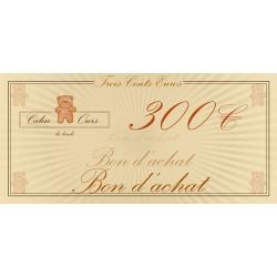Bon d'achat 300€