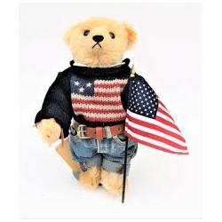 Steiff Ralph Lauren American Flag