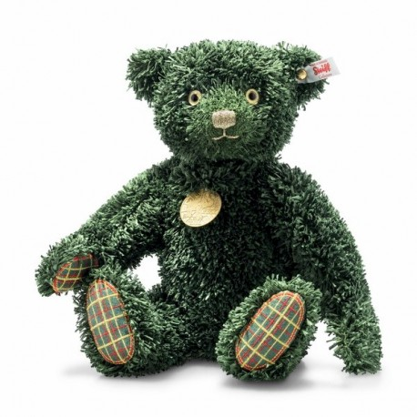 Steiff green Chrismas teddy