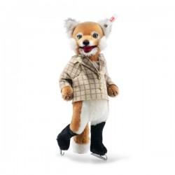 Steiff Fox Ice Skater