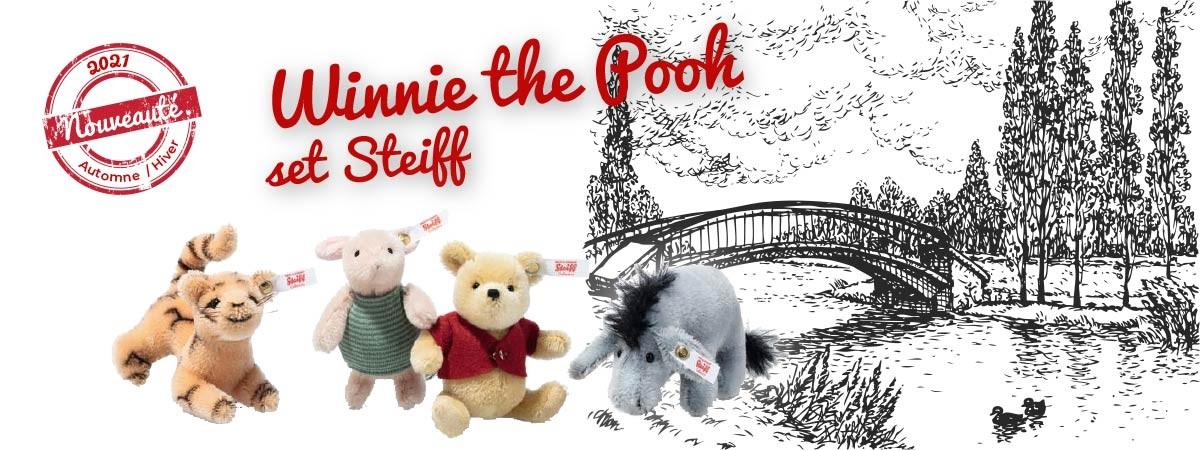 Winnie the pooh set - Steiff