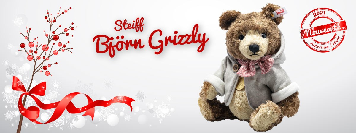 Bjorn Grizzly - Steiff