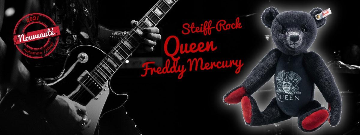 Queen, Freddy Mercury - Steiff